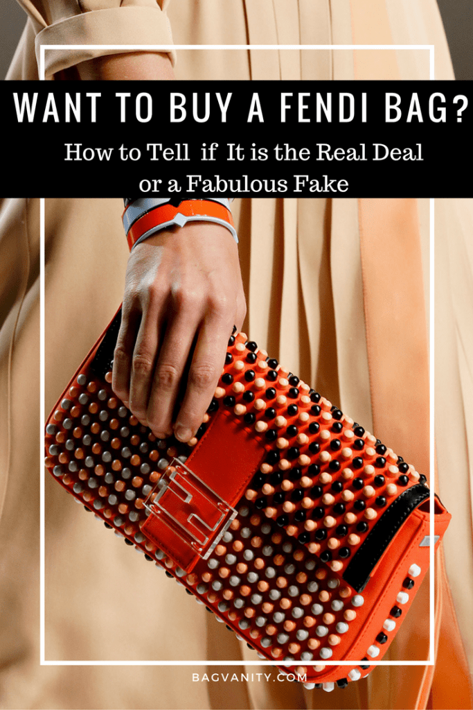 Shopping for a Fendi handbag? How to make sue the Fendi designer bag you buy is real.