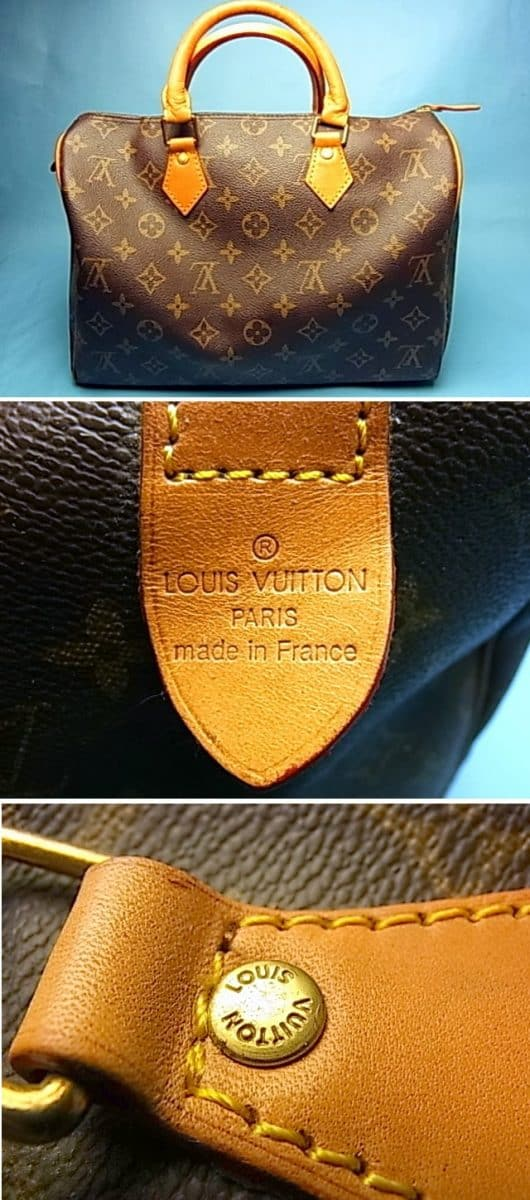 fake louis vuitton purse vs real