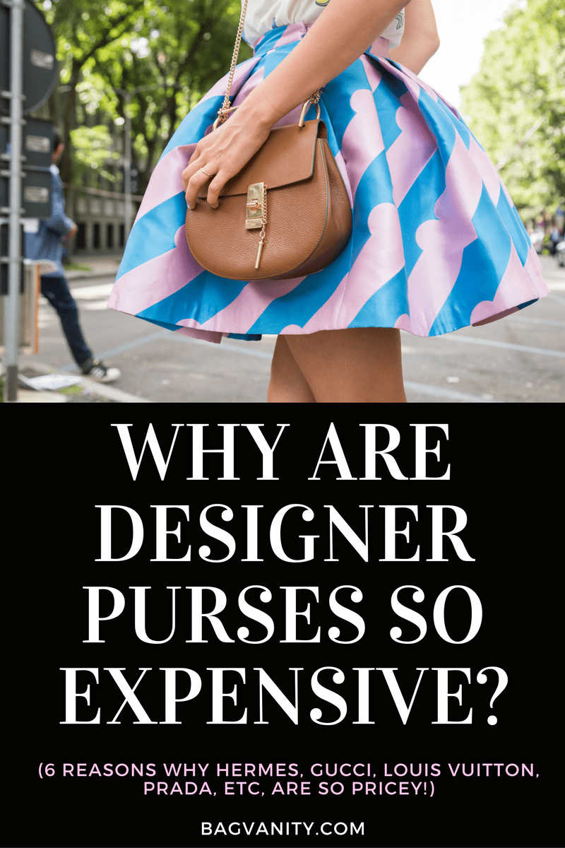 why are designer handbags so expensive