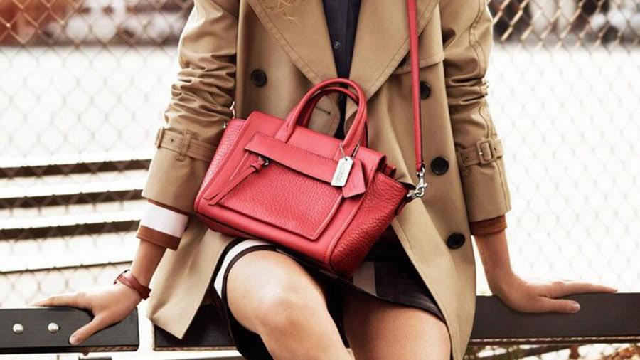 How to spot an authentic coach handbag