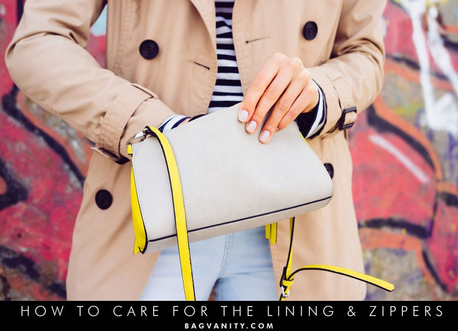 how to care for your purse or handbag