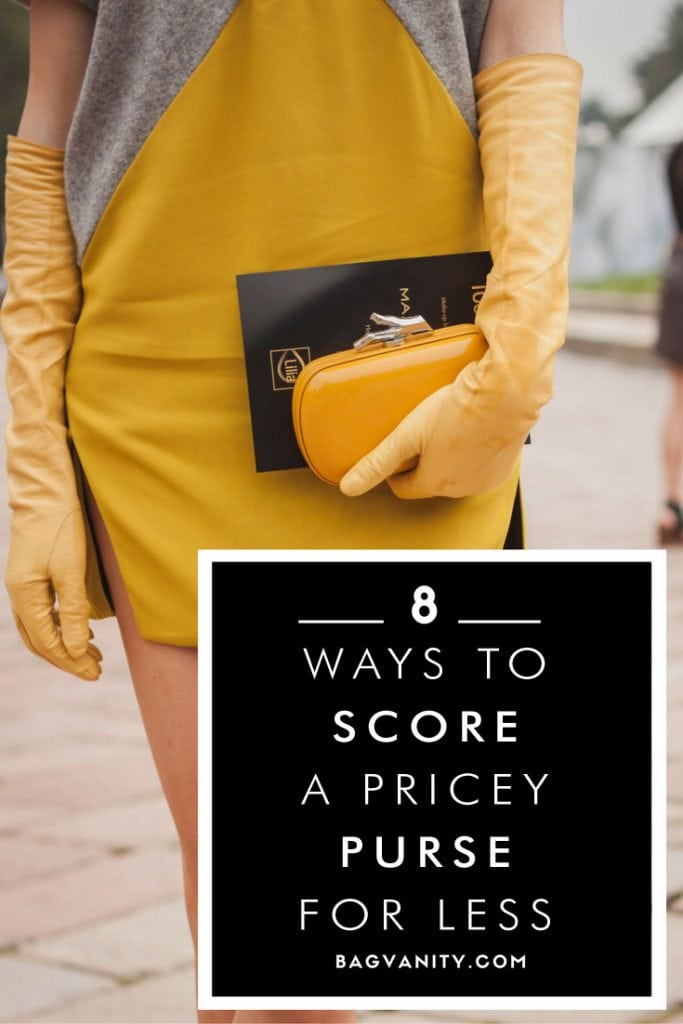 How to buy an authentic designer purse for less