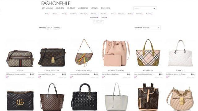 fashionphile cheap designer handbags