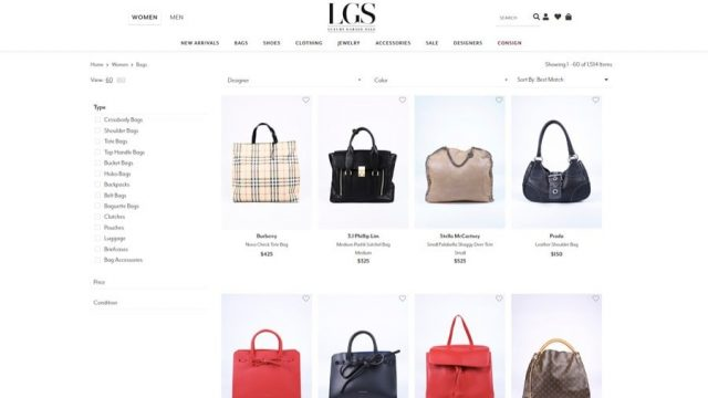 luxury garage sale designer handbags for less