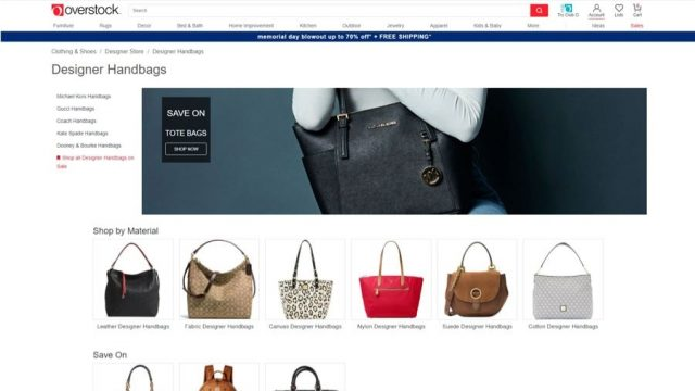 overstock where to buy cheap designer bags