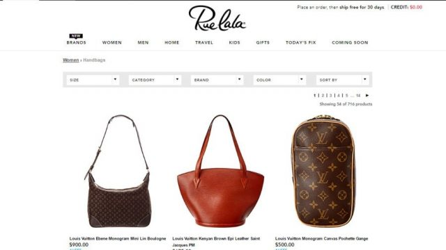 rue la la designer handbags for cheap