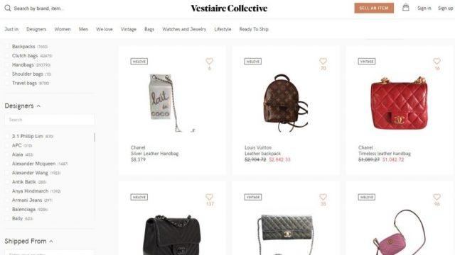 vestaire collective cheap designer bags
