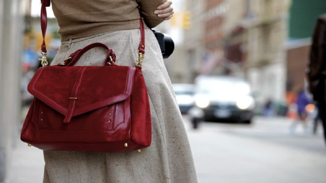 How to clean a suede handbag