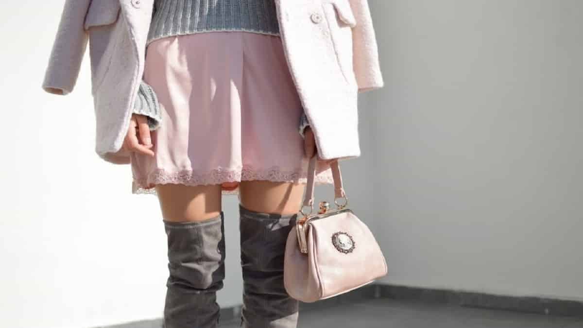 A Woman with a Cute Handbag